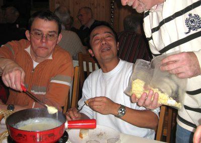 2008.12.12. Soirée fondue Avenex photos Michel. 056