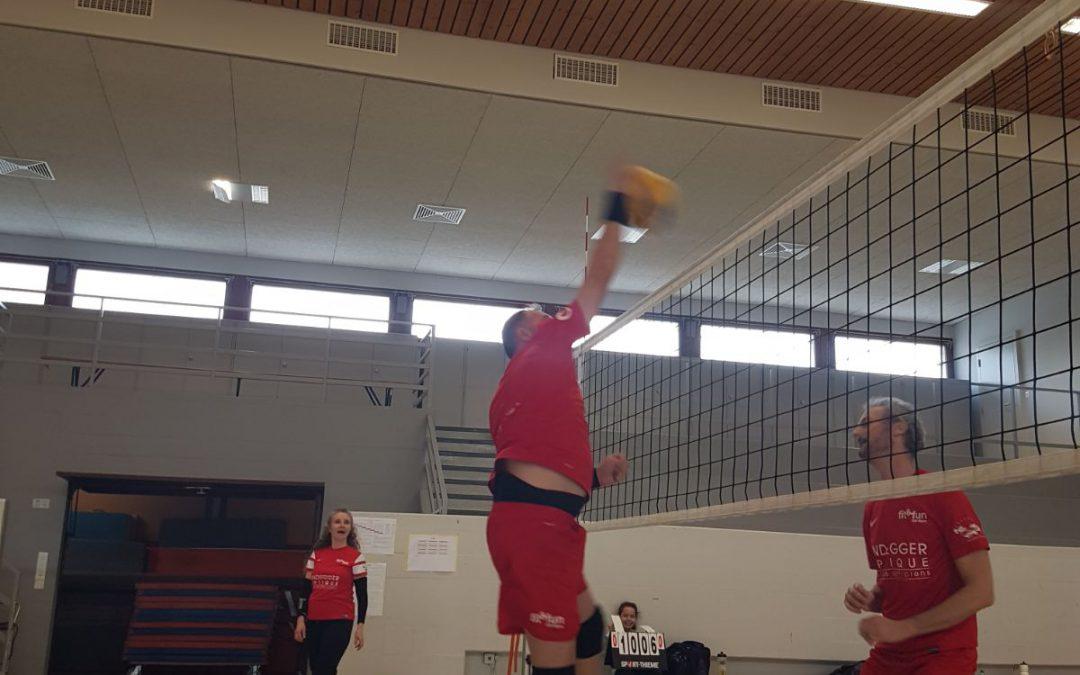 Entraînement volley-ball