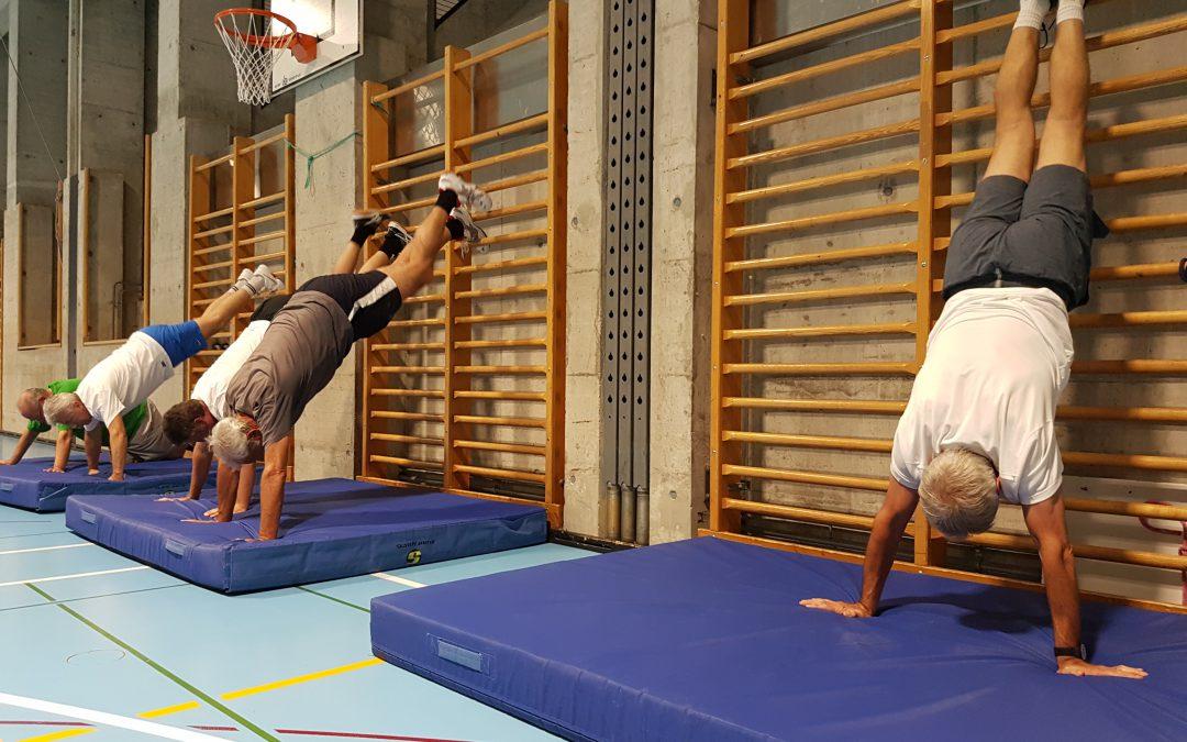 Entraînement Gym salle du Gymnase