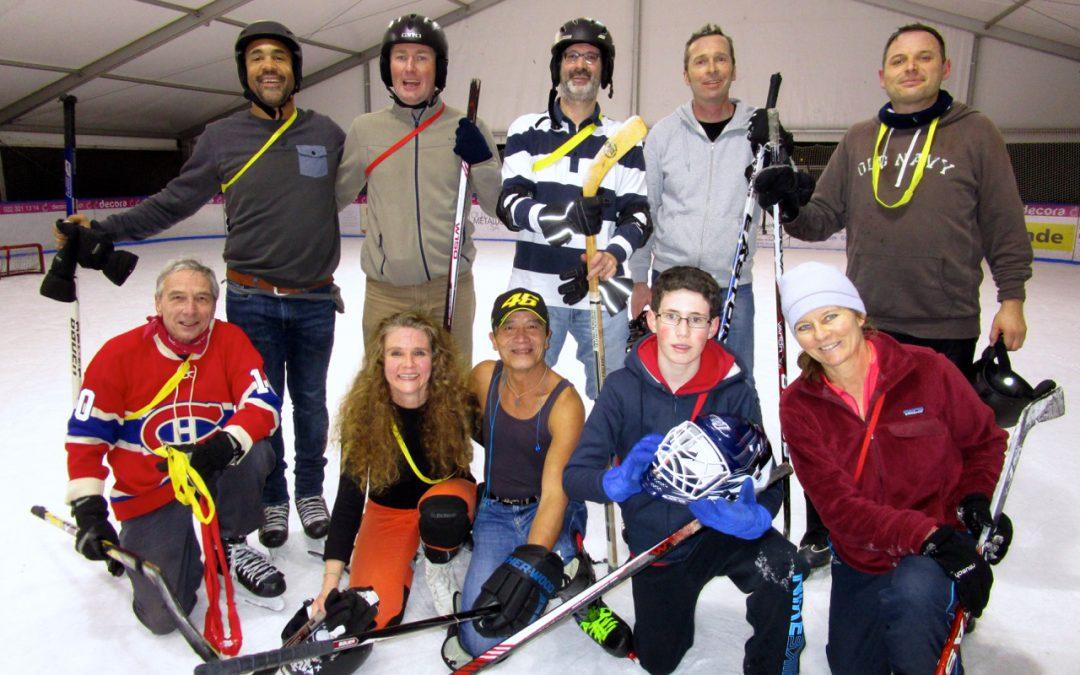 Soirée hockey (texte de Stefan, photos de Gérald et Stefan)