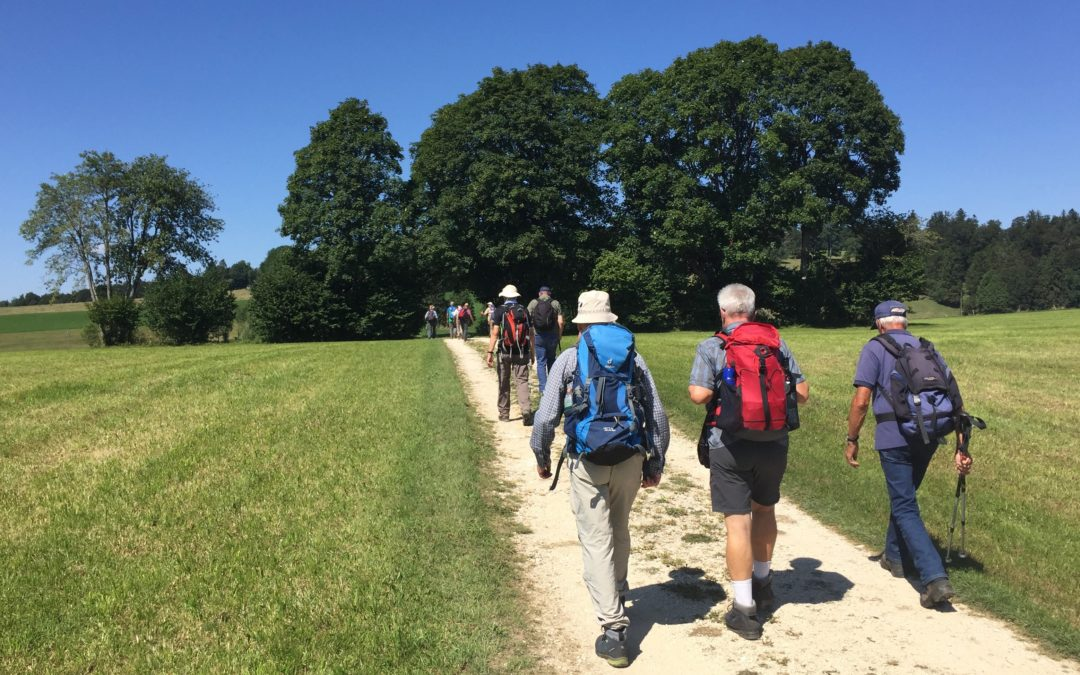 Superbe course de nos amis les Marcheurs dans les Franches-Montagnes