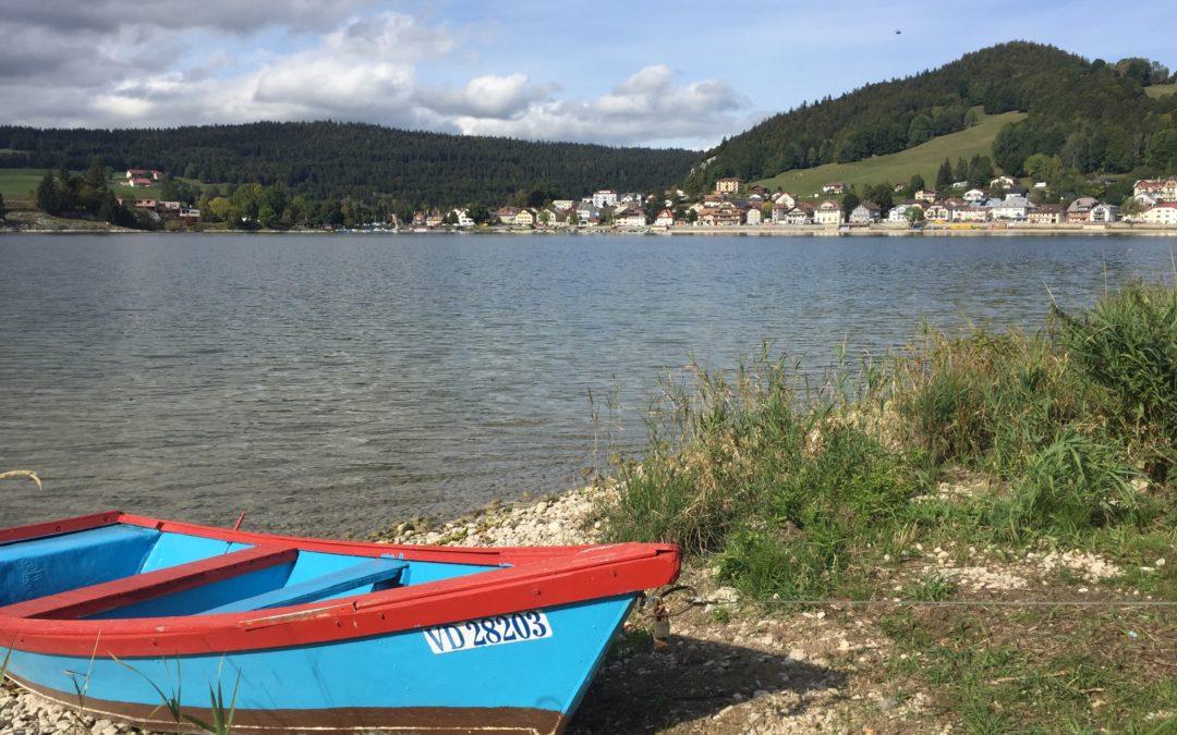 Balade le long du lac de Joux